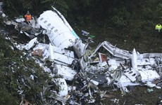Six survivors after plane crashes carrying Chapecoense Real soccer team