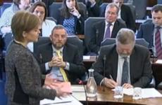 Nicola Sturgeon urges Ireland and Scotland to 'send a powerful signal' around the world