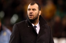 War of words between Michael Cheika and Eddie Jones continues as England's scrum criticised