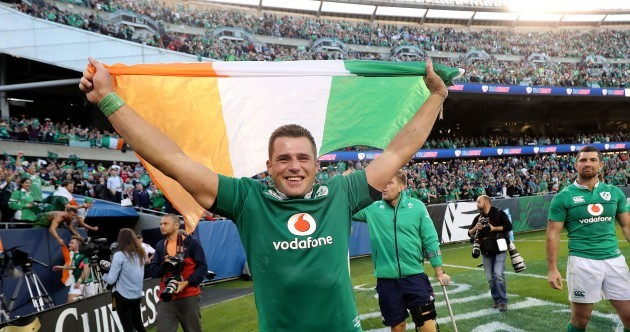 CJ Stander is the RWI Player of the Year after making a big impact on the international stage