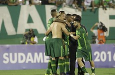 Atletico Nacional ask for Chapecoense to be awarded Copa Sudamericana title