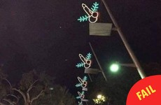 Dun Laoghaire's Christmas lights are not shaped like penises, despite the rumours