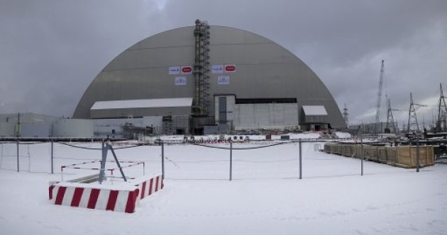 Giant €2.1 billion dome edged over Chernobyl power plant as existing one crumbles