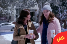 The empty coffee cups in the new Gilmore Girls reboot are enraging viewers