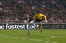 WATCH: Fan attacks keeper, keeper kicks back, match abandoned