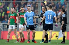 All-Ireland final replay referee admits to mistake in not showing black card for Dublin's Small