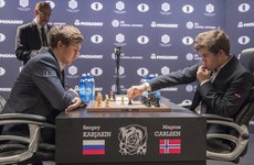 Norwegian prodigy Carlsen wins third World Chess Championship