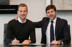 Kane ends speculation over his future by signing six-year contract extension at Tottenham