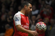 Santi won't be working this December! Big blow for Arsenal as injured Cazorla to miss another 3 months