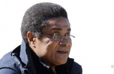 Get well soon: Eusebio hospitalised with pneumonia