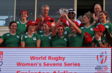 Ireland Women storm back from 12 - 0 down to win Dubai 7s Challenge Trophy