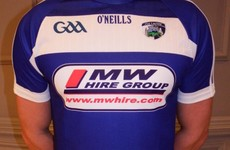 Laois GAA unveil new jersey as three-year sponsorship deal is signed