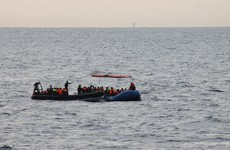 Photos show Irish forces saving 140 lives in the Mediterranean