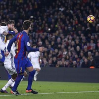 Barca left frustrated as last-gasp Ramos goal earns point for Real