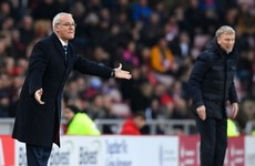 Claudio Ranieri accepts reigning Premier League champions face relegation battle