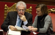 Italian parliament passes vote of confidence in Monti's government