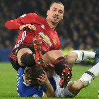 Zlatan insists kick to Seamus Coleman's head was unintentional