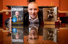 Kieran Donaghy wins eir Sports Book of the Year
