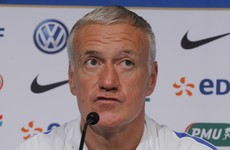 Deschamps vows to take legal action against Cantona over racial slur