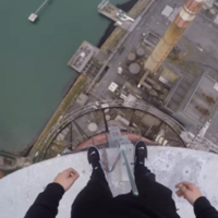 A teenager climbed the Poolbeg chimneys and filmed the entire thing
