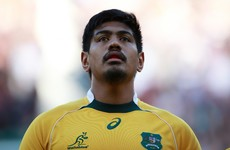 Wallabies lock Will Skelton is heading to Saracens