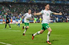 Who scored Ireland's best goal in 2016?
