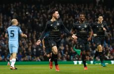 Celtic winger scores against parent club Man City as Hoops hold Pep's men