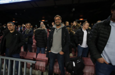 Jurgen Klopp has taken his Liverpool squad to watch Barcelona at the Nou Camp tonight