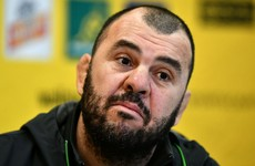 ARU boss says Cheika's job is safe despite losing 9 of 15 Tests this year