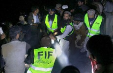 Plane carrying 47 people crashes in Pakistan