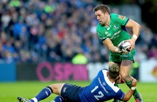 Connacht centre Ronaldson ruled out for over a month, will miss big European and inter-pro clashes
