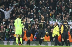 Celtic face Uefa charges after crowd disturbances at Etihad Stadium
