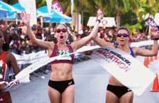 These two Olympians learned a valuable lesson after trying to share a 10k victory