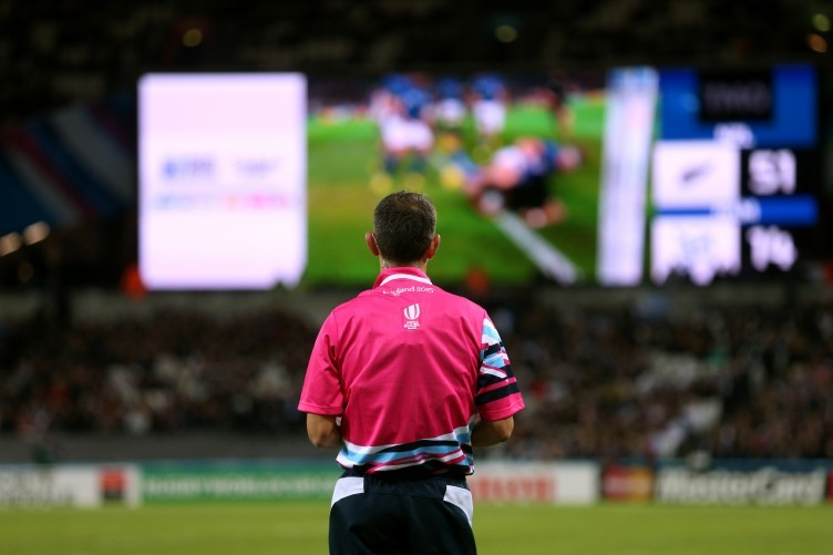 A similar system to rugby's TMO will be used.