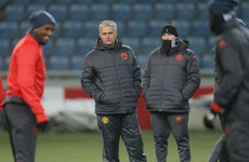 It's on: Man United's game in Ukraine to go ahead despite fears over frozen pitch