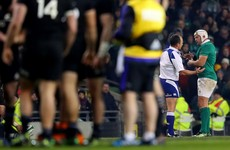 Jaco Peyper won't ref Ireland in the 6 Nations