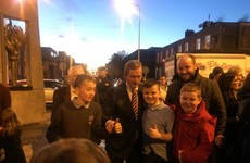 Enda Kenny turns on the Christmas lights in Dublin's north inner city