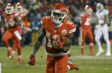 Chiefs rookie wide receiver returns punt to score 78-yard touchdown
