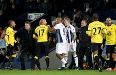 Tony Pulis warns James McClean to 'control himself'