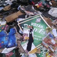 Leaflets from Sinn Féin's environment spokesperson dumped in Kildare wood