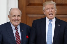Trump narrows cabinet picks but Giuliani is out