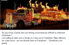 Mayo's soundest taxi man is making a wonderful gesture to families finding Christmas difficult