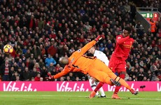 Randolph howler gifts Liverpool equaliser as Reds are held at home