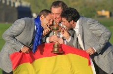 Olazabal gets Monty's blessing for Ryder Cup captaincy