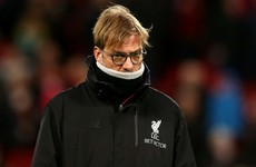 Liverpool were denied several penalties - Jurgen Klopp