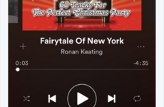 Loads of Spotify users are being caught out by Ronan Keating's cover of Fairytale of New York