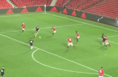 Ex-Kilkenny minor hurler hit the net in FA Youth Cup win at Old Trafford last night