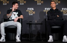 Ronaldo: If Messi were in my team, I'd have more Ballons d'Or