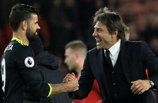 Antonio Conte lauds Diego Costa's form, but says 'he can improve'
