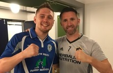 Unbeaten Quigley 'like a caged bear' ahead of tonight's bout on Hopkins undercard